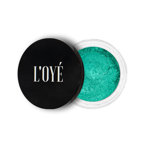 Mineral eyeshadow Poison Green| Mineral eyeshadow Poison Green