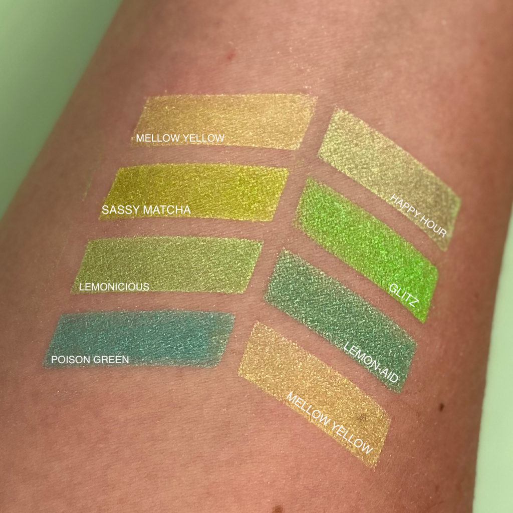 MINERAL EYESHADOW POISON GREEN