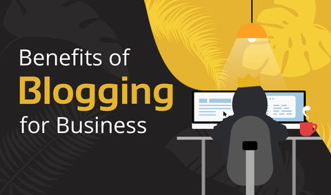 [INFOGRAPHIC] 5 Reasons Why Blogging Is Good for Your Business