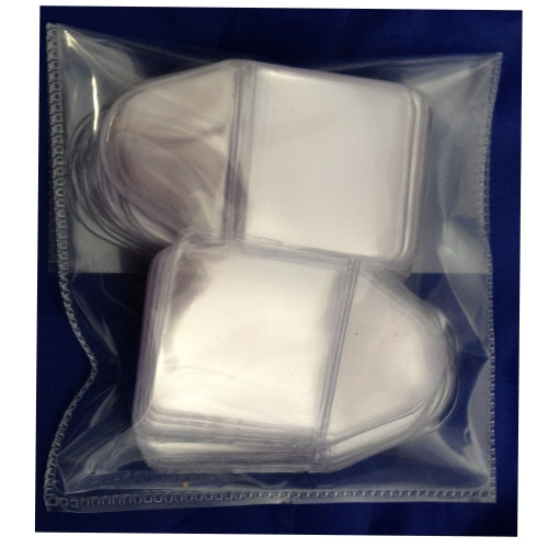 Coin or Badge Individual Plastic Sleeves 1.5