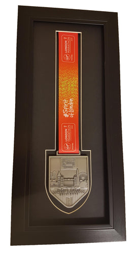 London Marathon 2018 2019 Medal Frame For Finisher's Medal