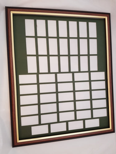 Mounting & Framing Kit for 50 Cigarette Cards (Custom Cut)