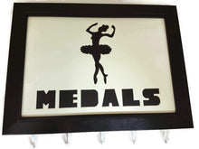 Load image into Gallery viewer, Medal Hanger with Ballet Dancing Image