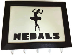 Medal Hanger with Ballet Dancing Image