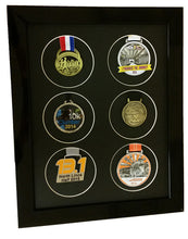Load image into Gallery viewer, Medal Frame For 6 X Running or Sports Medals