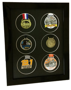 Medal Frame For 6 X Running or Sports Medals