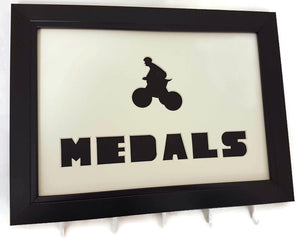Medal Hanger for Cycling Medals with Bicycle Cut out
