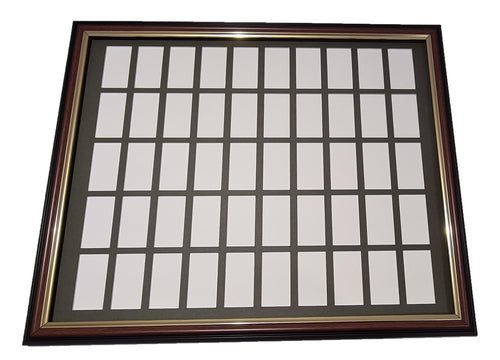 Mounting & Framing Kit for 50 Cigarette Cards (50 card set)