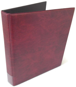 Coin Collectors Storage Album 4 Ring Padded