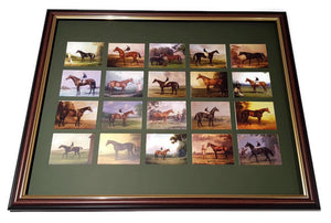 Mounting & framing Kit for 20 Large Cigarette Cards