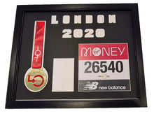 Load image into Gallery viewer, Virtual London Marathon 2020 Display Frame