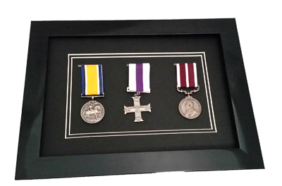 Miltary Medal or Sports Award Frame for 3 Medals