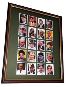 Mounting & framing Kit for 25 Large Cigarette Cards