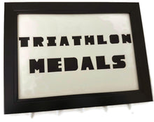 Load image into Gallery viewer, Medal Hanger Frame for Triathlon Medals