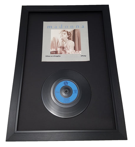 Black Display Frame for Single 7