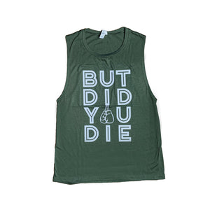 *RTS* But Did You Die Boxing Muscle Tank - Size S