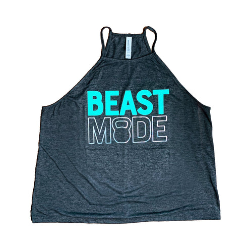 *RTS* Beast Mode High Neck Tank - Size L - IMPREFECT