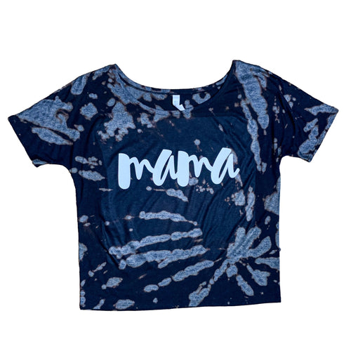 *RTS* Tie Dye MAMA Slouchy Tee - Size S