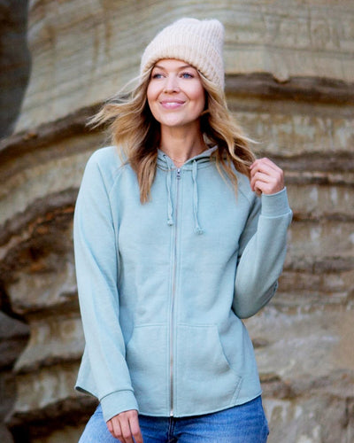 Super Soft Full-Zip Hooded Sweatshirt
