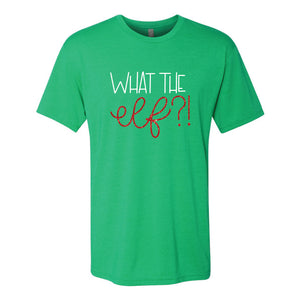What the Elf Green Short Sleeve Jersey Tee
