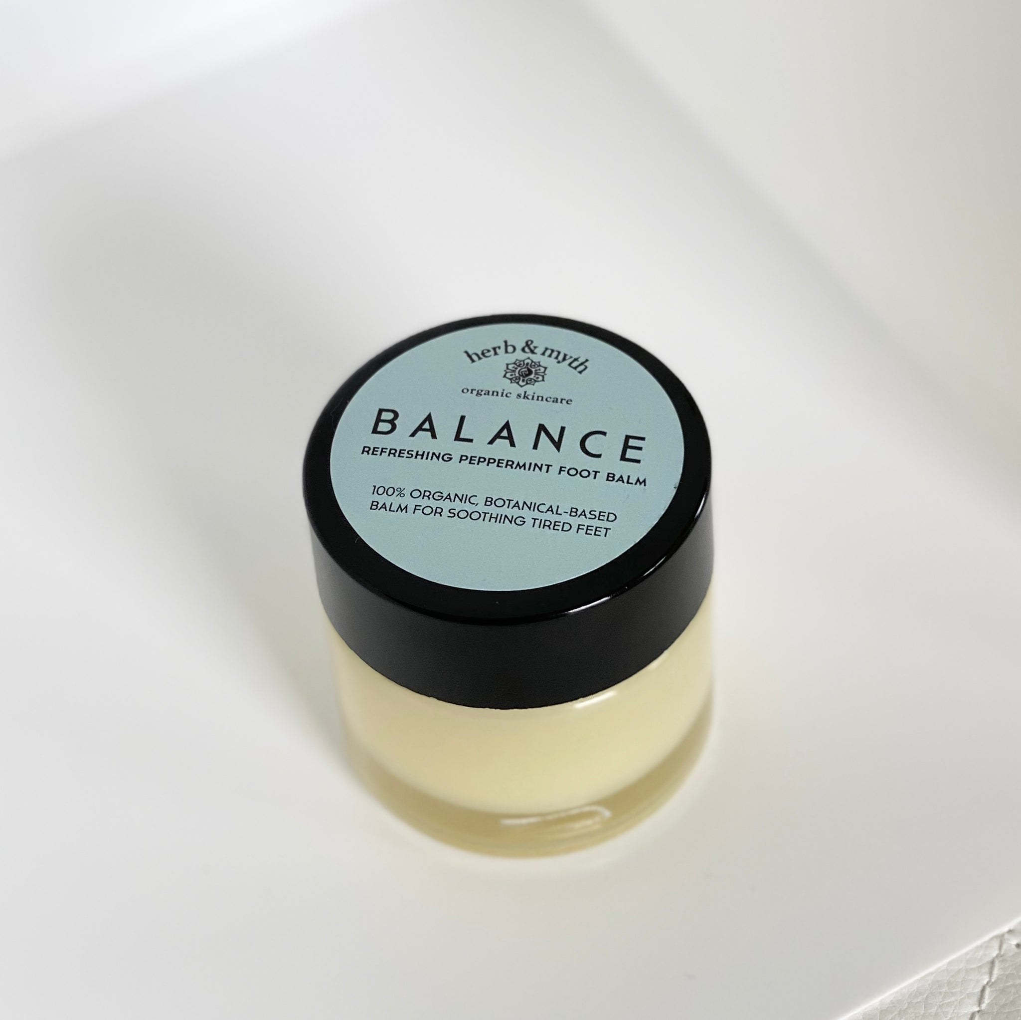 Balance Refreshing Peppermint Foot Balm