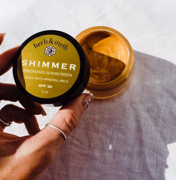 SHIMMER Bronzing Mineral Sunscreen