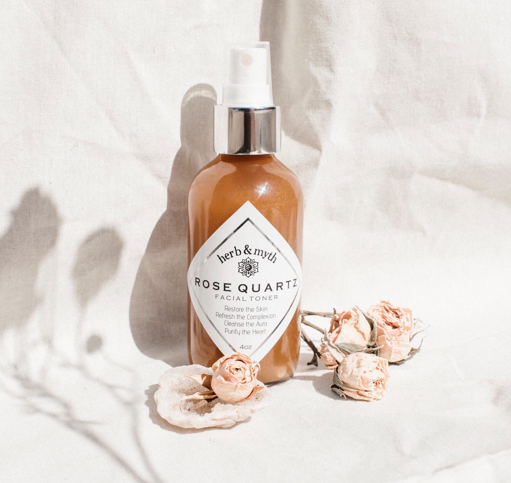 ROSE QUARTZ  Facial Toner Mist