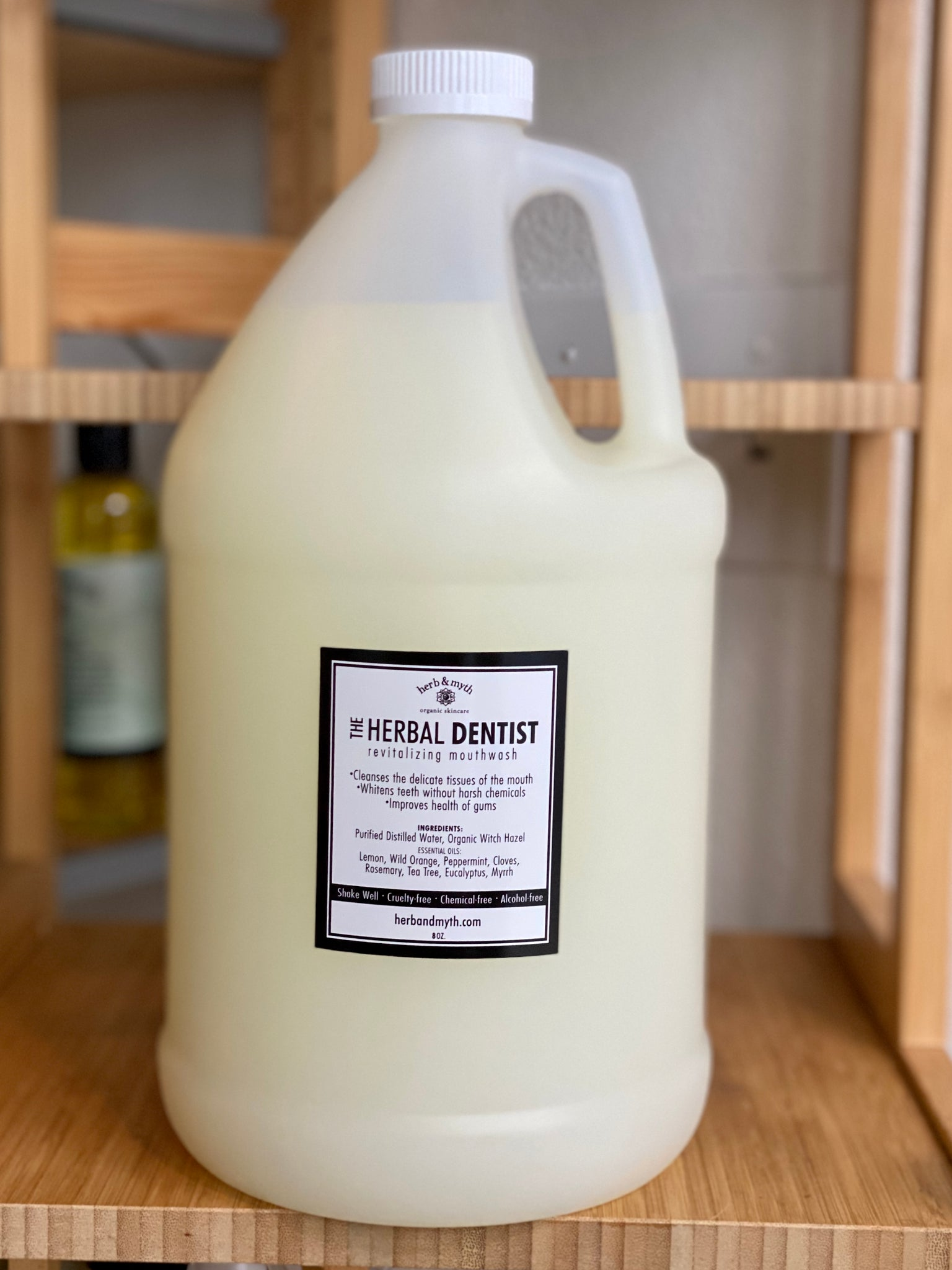 1 Gallon The Herbal Dentist Mouthwash