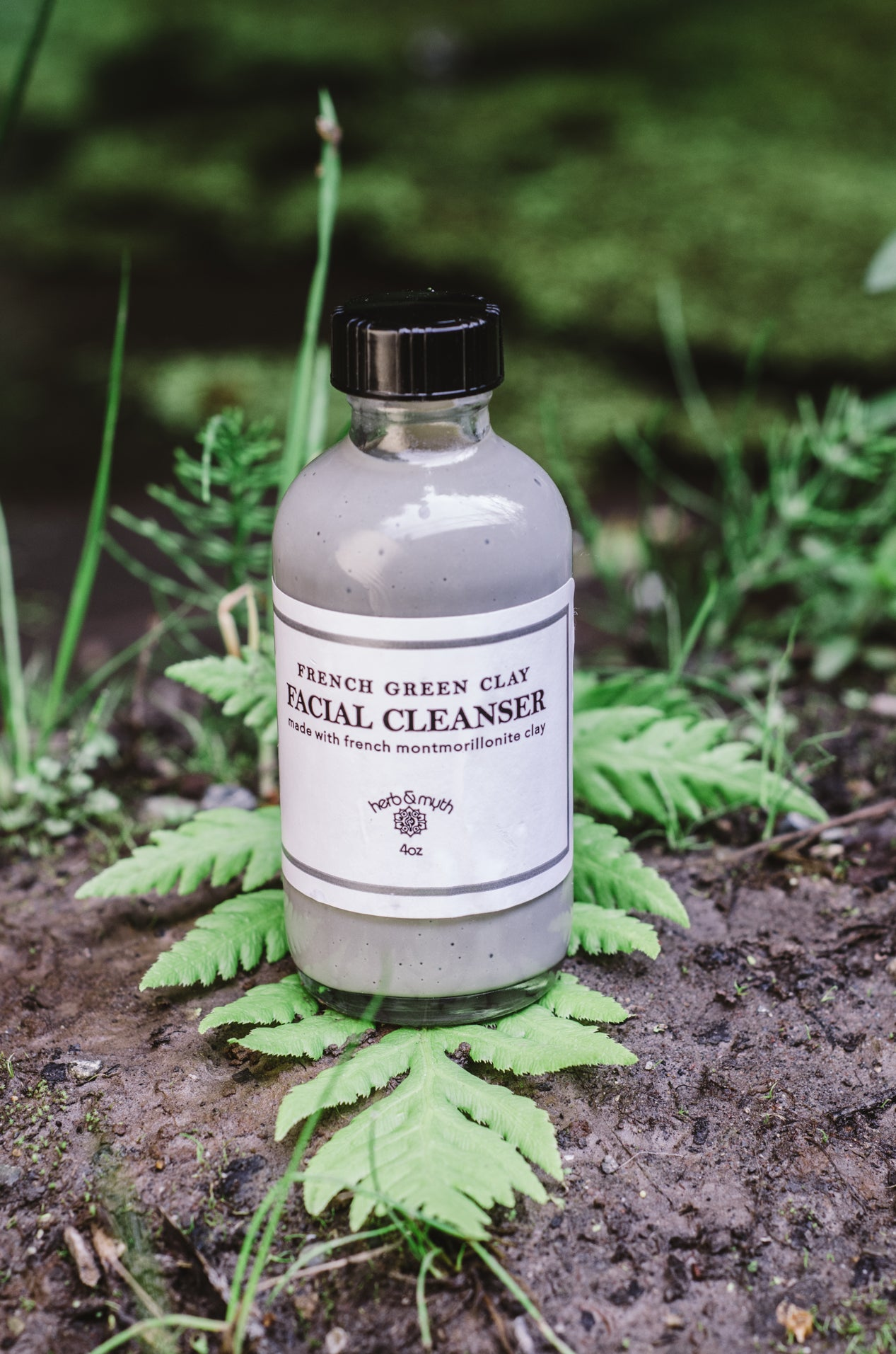 French Green Clay Facial Cleanser