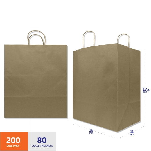 Copy of Natural Kraft Shopping Bag with Handles