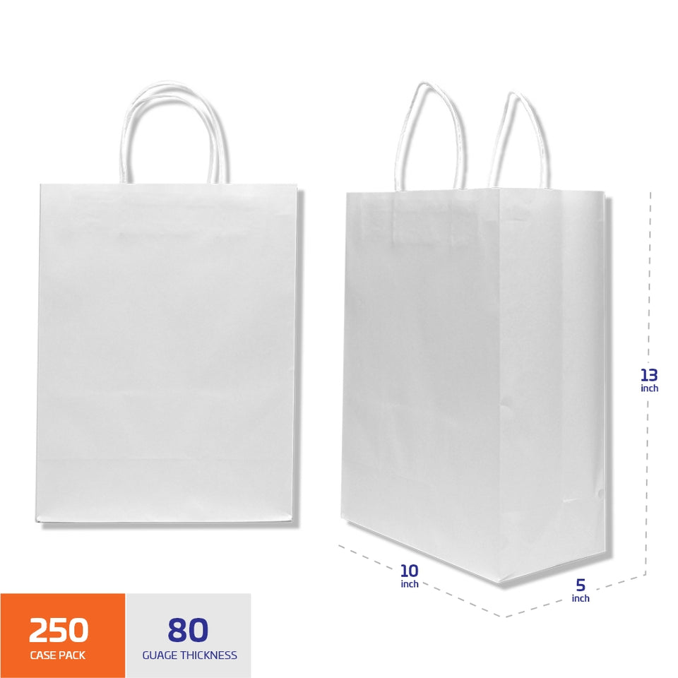 Natural Kraft Shopping Bag with Handles