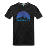 COLORADO state T-shirt: Vintage-style distressed graphic on a premium unisex shirt - charcoal gray