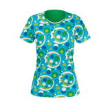 Moddots blue women's shirt