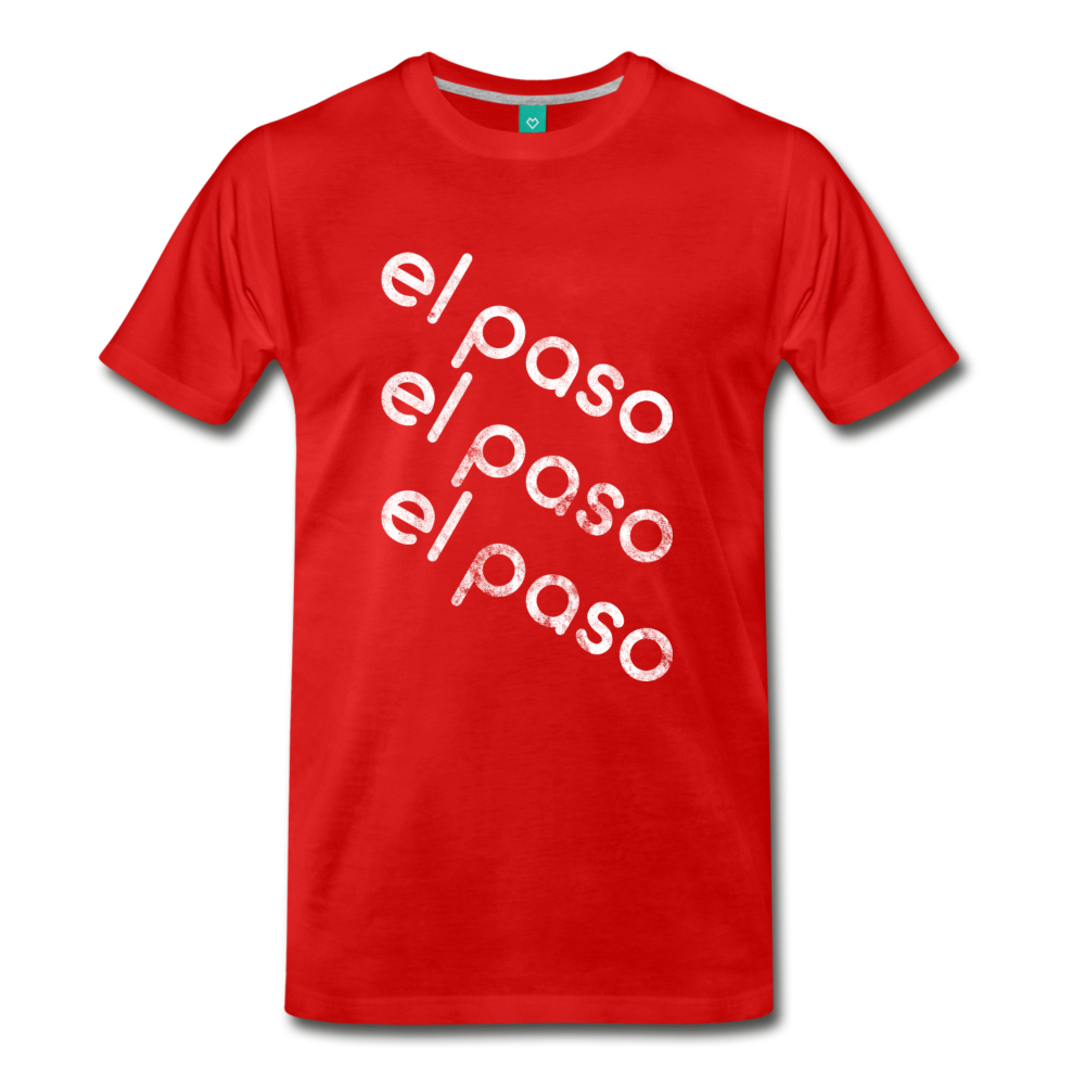 EL PASO on a premium unisex T-shirt - red