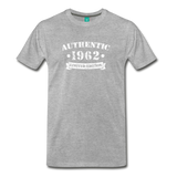 on a premium unisex T-shirt - heather gray
