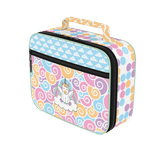 Unicorntastic lunch bag: A fun & fanciful pastel-colored bag for kids, starring Etta the Unicorn