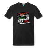 Horror movies from 1959 - on a premium unisex T-shirt - black