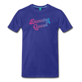 Dancing Queen unisex on a premium unisex T-shirt - royal blue