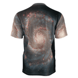 Whirlpool galaxy all-over print unisex T-shirt