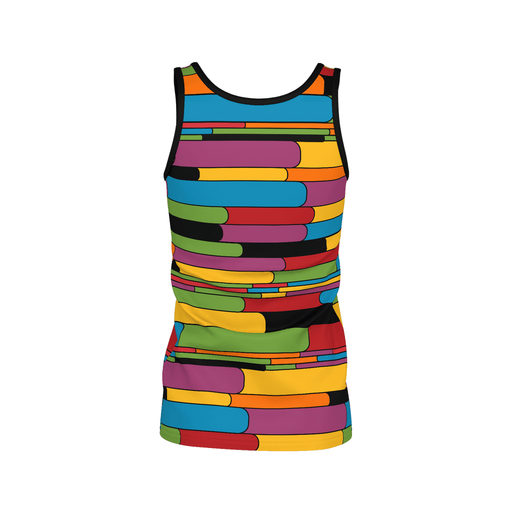 Colorcapsule pattern women's all-over-print tank top
