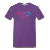 Dancing Queen unisex on a premium unisex T-shirt - purple