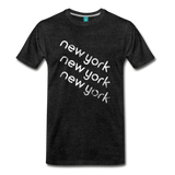 NEW YORK city T-shirt: Vintage-style distressed graphic on a premium unisex shirt