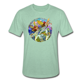 Unisex Heather Prism T-shirt - heather prism mint