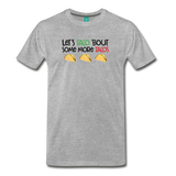 Unisex More tacos on a premium unisex T-shirt - heather gray