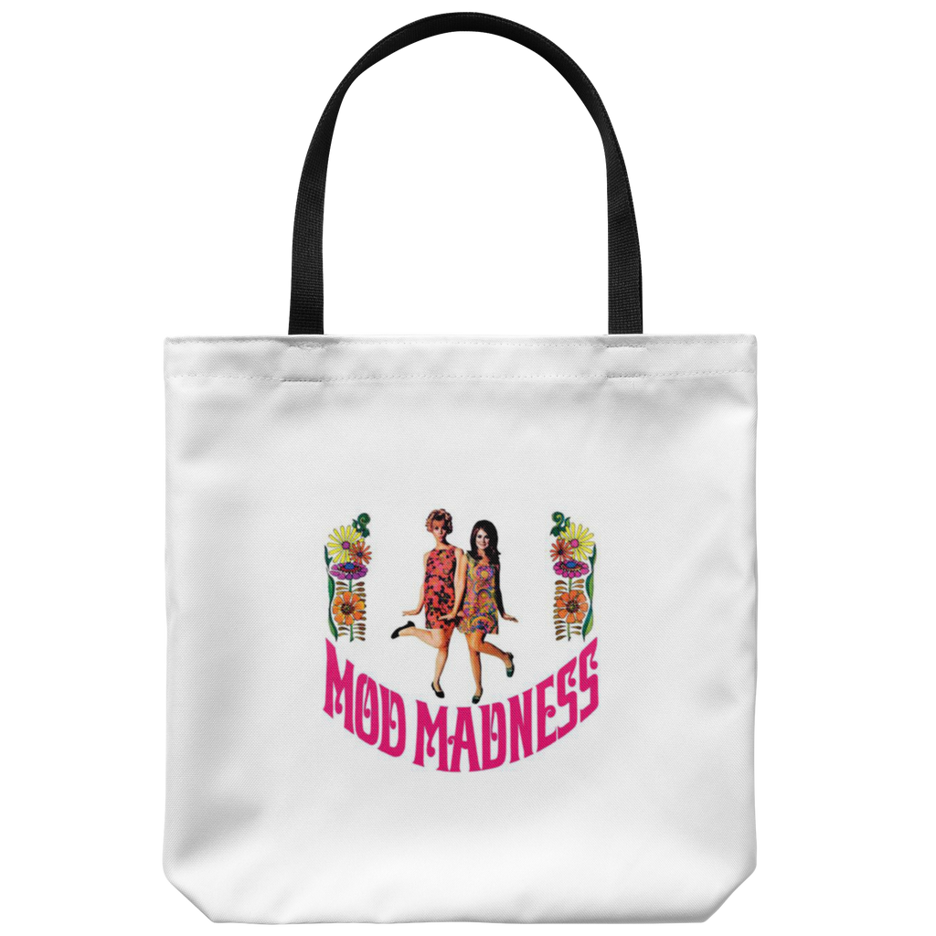 Tote bag with original 1967 graphic 'Mod Madness'