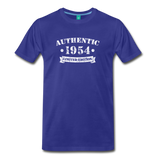on a premium unisex T-shirt - royal blue
