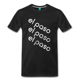 EL PASO on a premium unisex T-shirt - black