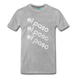 EL PASO on a premium unisex T-shirt - heather gray