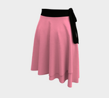 Pink poodle skirt with white dog