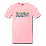 Ancient illuminated art - on a premium unisex T-shirt - pink